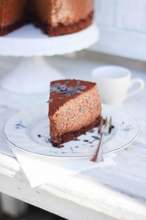 Pics Photos - Torta Mousse Chocolate Pralin Ndoa
