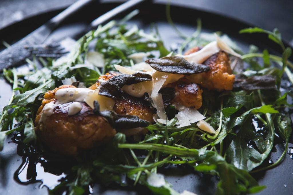 Süßkartoffelnocken