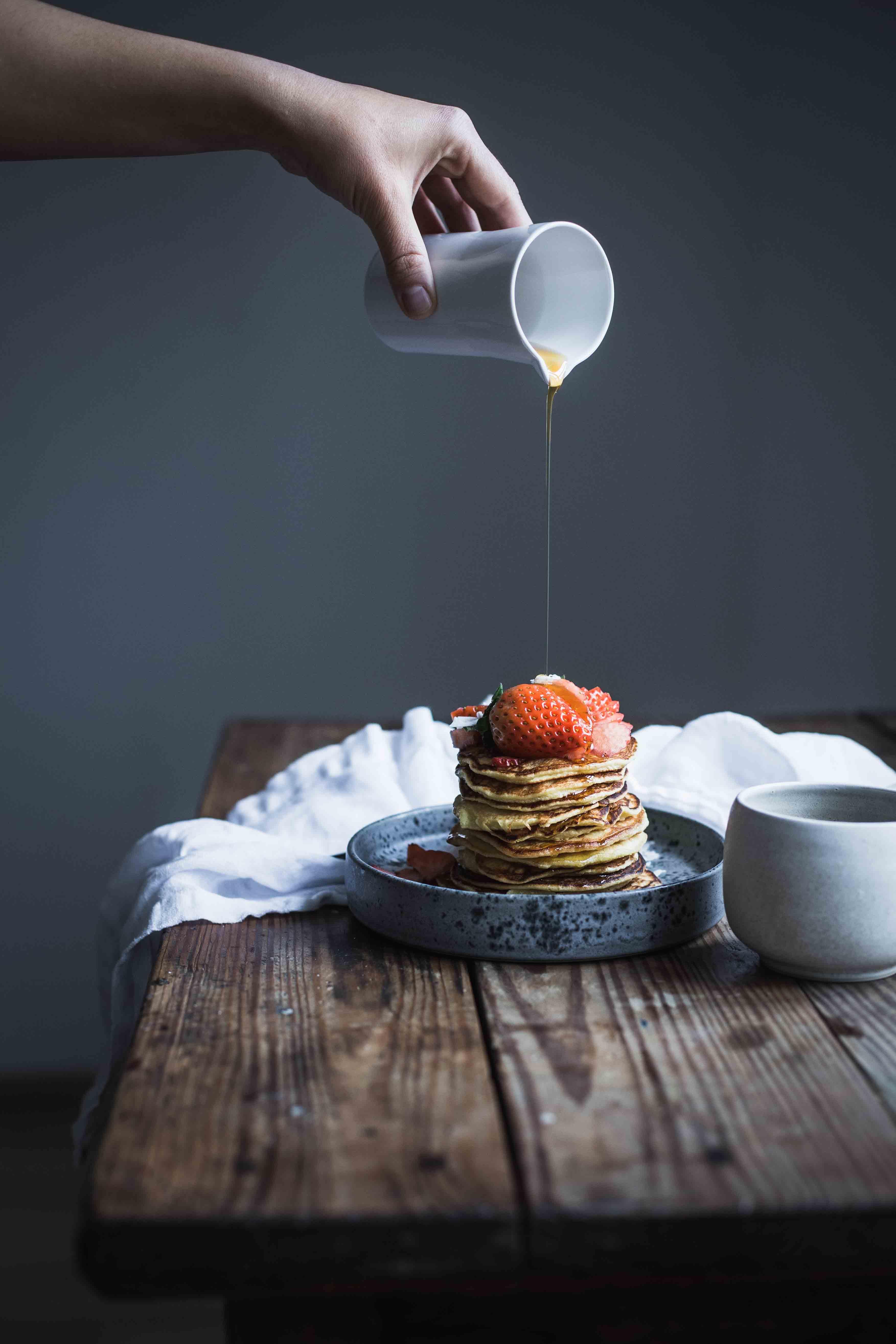 kokosmehl pancakes